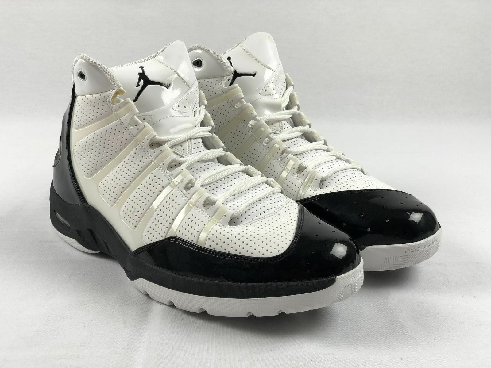 NEW Jordan Play in these F 9's - White/Black Basketball Shoes (Men's 16)