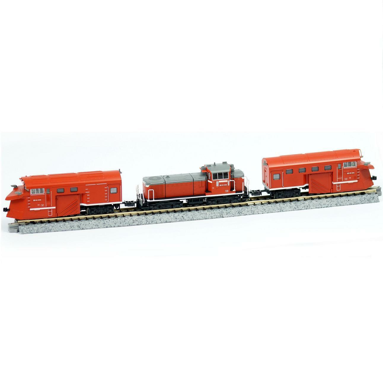 Kato 10-1127 Diesel Locomotive Type DD16-304 Snowplow Set - N
