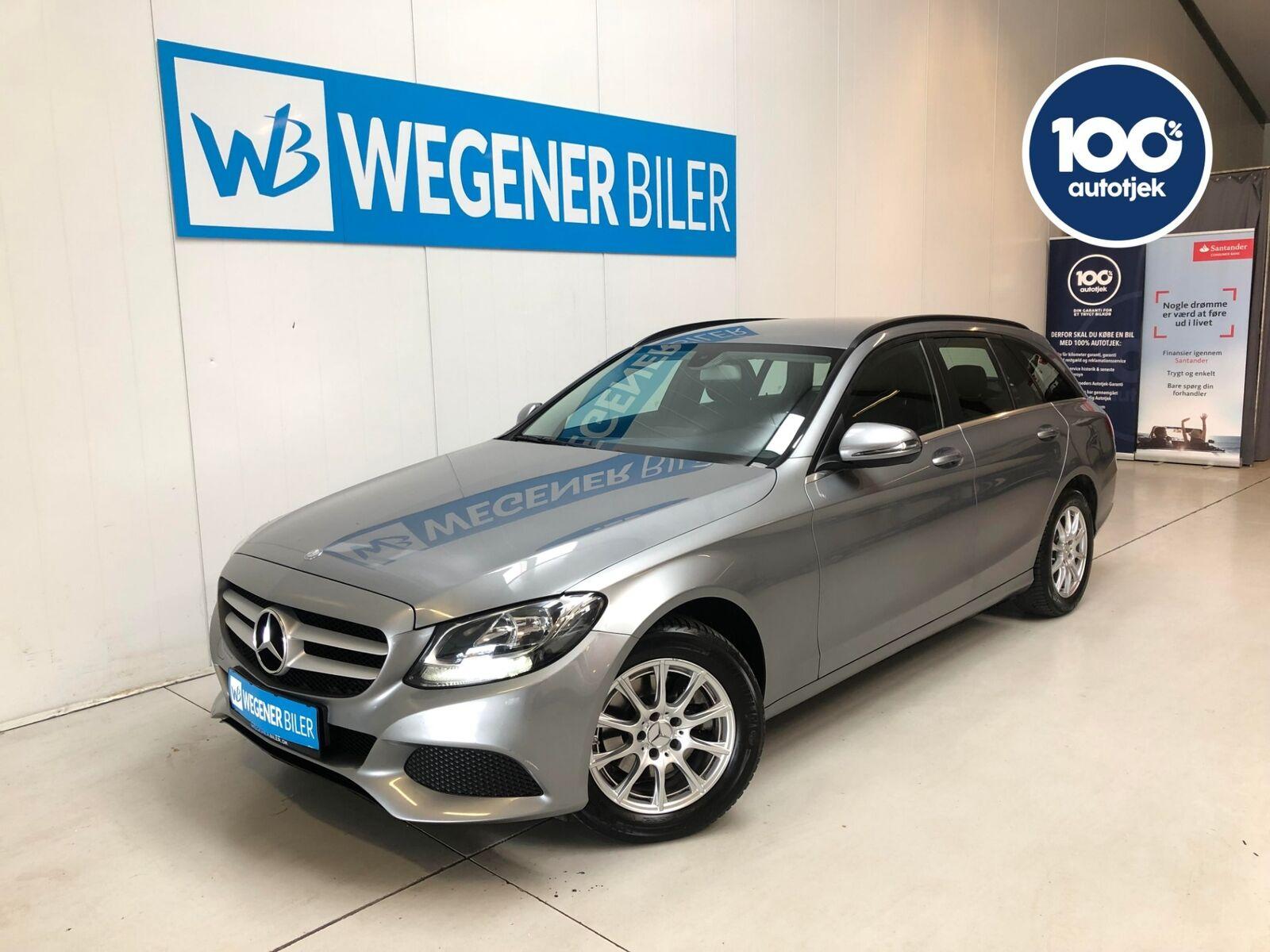 Mercedes C200 2,0 stc. aut. 5d