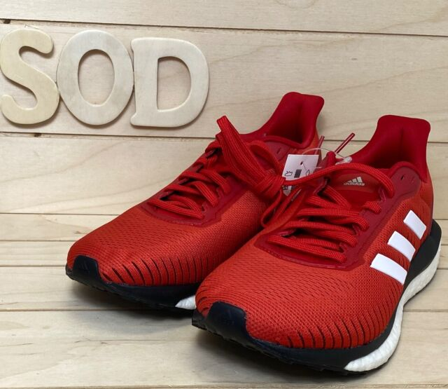 Adidas Solar Drive 19 EF0790 Mens Running Shoe Size 8 Red White New