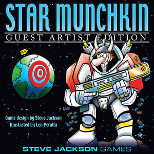 Star-Munchkin-Guest-Artist-Len-Peralta-Board-Card-Game-Steve-Jackson-SJG-1518