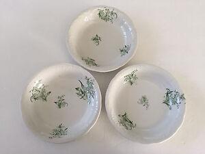 Lot-of-3-W-E-P-Co-West-End-Pottery-Co-China-7-5-8-034-SOUP-SALAD-BOWLS