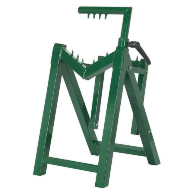 Sealey Heavy-Duty Log Stand Ø230mm Capacity - Part No. LC300ST