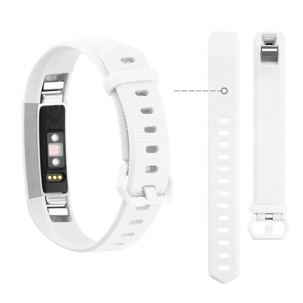 Replacement Watch Band Wrist Wristband Accessory White Large For