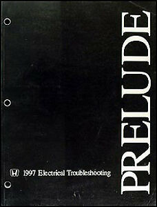 1997 honda prelude electrical troubleshooting manual. Black Bedroom Furniture Sets. Home Design Ideas
