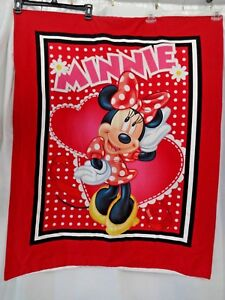 Disney Minnie Mouse Cloth Wall Hanging Baby Girls Room Decor 40 X