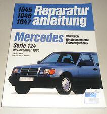 Reparaturanleitung Mercedes W124 260 / 300 E + 4Matic, ab Baujahr 1985