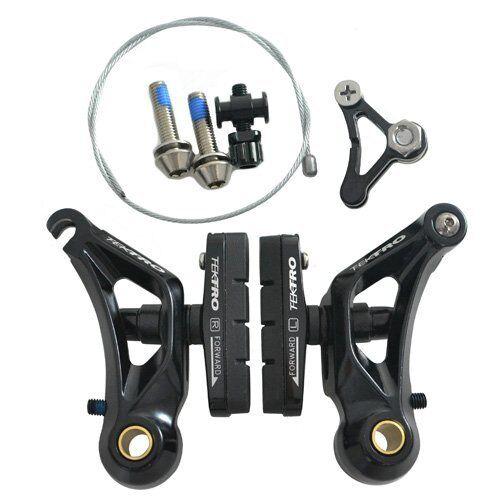 Silver or Black TEKTRO CR710 Cyclocross Cantilever Brake Set Front /& Rear