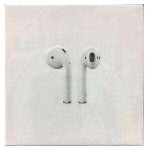 Genuine Apple AirPods In-Ear Wireless Bluetooth Earphones MMEF2 w/ Case - White