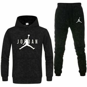 Details zu Herren Legende Jordan Trainingsanzug Jogginganzug Hoodies und Hosen Fitnessanzug