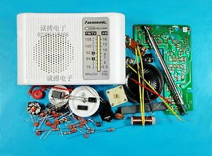 AM-FM-Radio-Kit-Parts-CF210SP-Suite-for-Ham-Electronic-lover-assemble-DIY