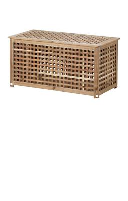 Hol Storage Table Acacia 98x50 Cm Ikea Solid Wood Brand New Ebay