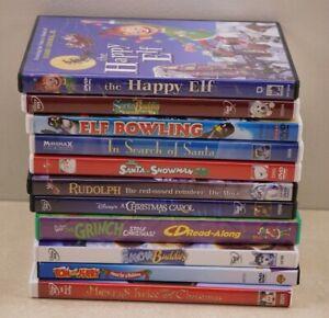 11 Christmas DVD Movie Lot
