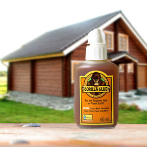 Gorilla Glue 60ml For Wood Stone Metal Ceramic Glass And