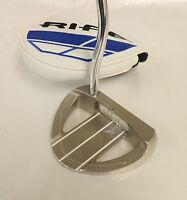 Rife Barbados Hs Sterling Rh Putter-34 In With Blue Cover