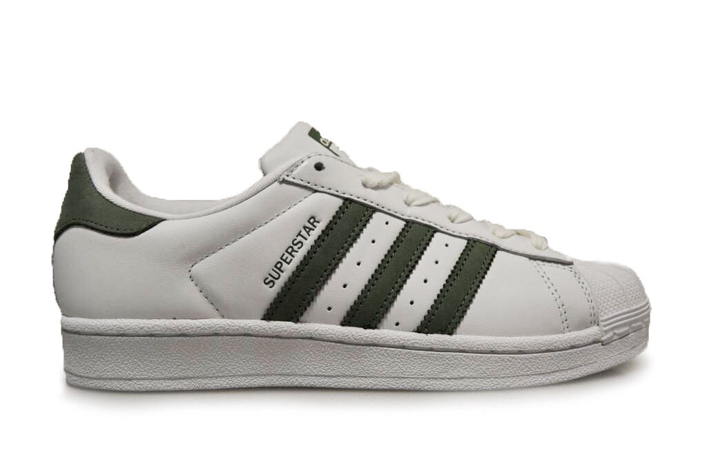 Womens Adidas Superstar W - CG3354 - White Trainers