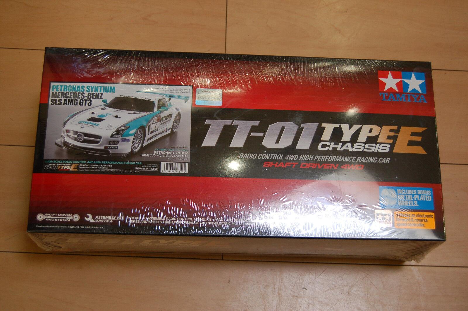 Tamiya 300058554 58554 Petronas Mercedes Benz SLS AMG tt-01e kit nuevo & OVP