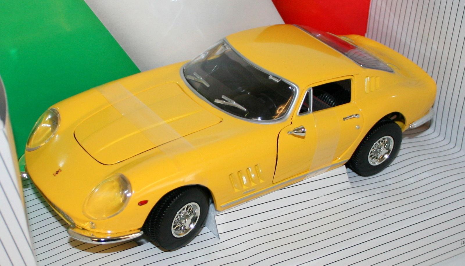 Ert7378 by ERTL Ferrari 275 GTB 4 1966 1 18