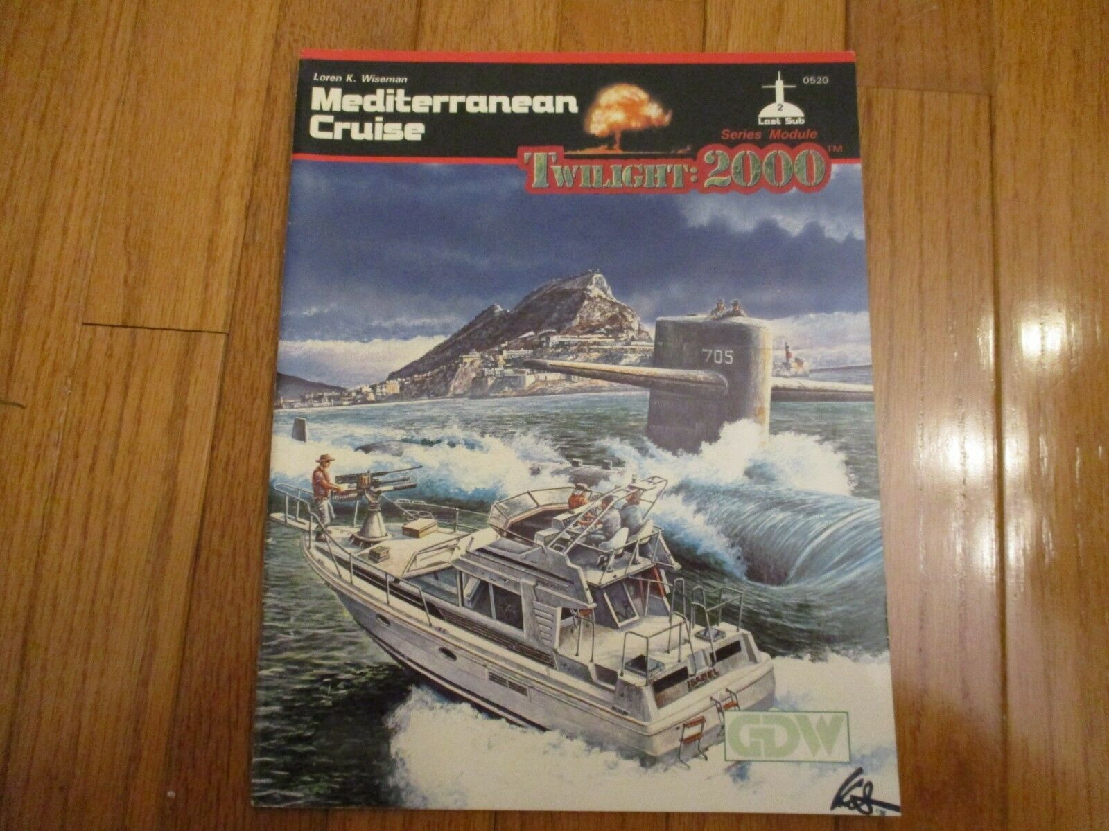 Twilight 2000 RPG Mediterranean Cruise