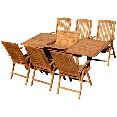 2//4//6 Hochlehner Stühle Garten Sitzgruppe 1 Glastisch Klapptisch rund 70 cm Ø