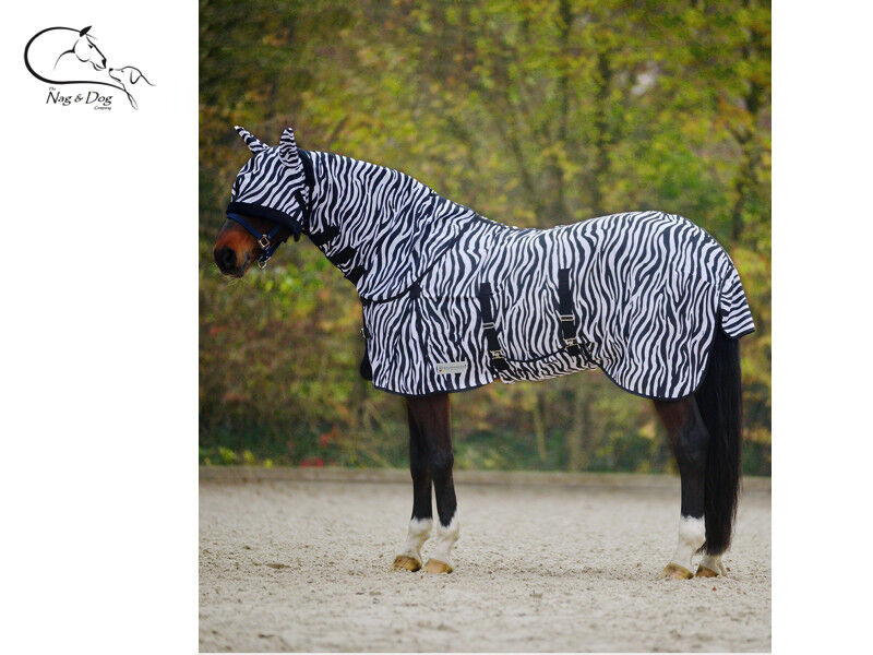 Waldhausen Deluxe Zebra Fly Rug with Belly and Tail Flap  FREE DELIVERY