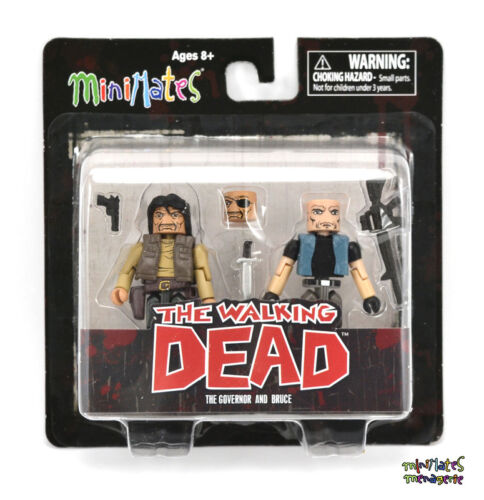 Walking Dead Minimates Series 4 The Governor /& Bruce