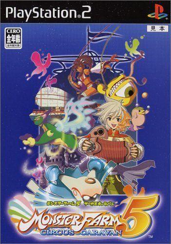 Used PS2 Monster Farm 5: Circus Caravan SONY PLAYSTATION JAPAN IMPORT