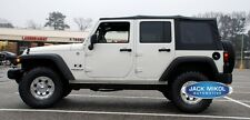 For 2010-2017 Jeep Wrangler 4-Door Replacement Soft Top & Tinted Rear Windows