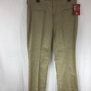 13b8fa07e82576 Dickies Girls Womens Size 13 Slim Fit Boot Cut Stretch Work Pants ...