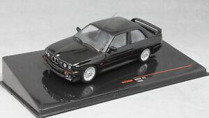 IXO-BMW-M3-Sport-Evolution-E30-in-Nero-1990-CLC308N-1-43-Nuova-Release-2019