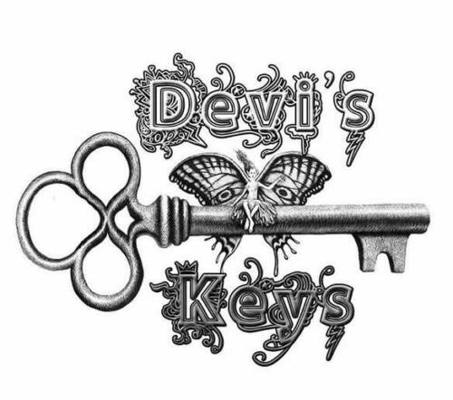 Big 3 inch key SALE BRONZE SILVER or GOLD antique look KEY TO MY HEART
