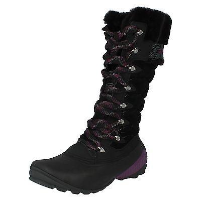 LADIES MERRELL WINTERBELLE PEAK WATERPROOF MID CALF SNOW BOOTS J68106/J68112