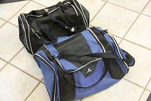 55def28ef4 Image is loading 2X-JEEP-Authentic-Sport-Gear-Travel-Equipment-Duffle-