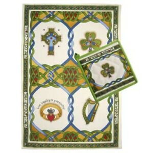 Celtic Cotton teatowel Set from Ireland