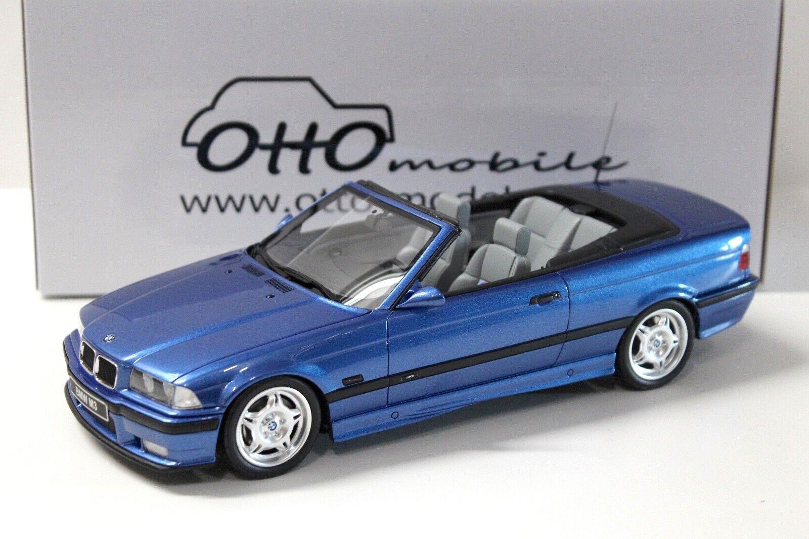 1:18 otto BMW m3 e36 Convertible blu NEW in Premium-MODELCARS