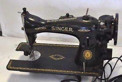 Singer Late Model Model Sewing Machine Bentwood Case Restoration Decals 40811