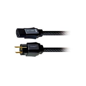 Cable alimentacion 3m blanco protección contacto-prórroga enchufe hembra 3,0m blanco