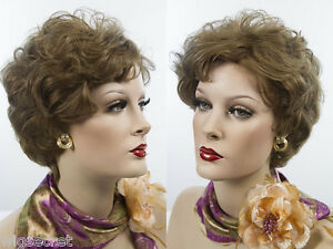 Stunning-Short-Human-Hair-Blonde-Brunette-Red-Wavy-Wigs-Layered-Tapered-Back