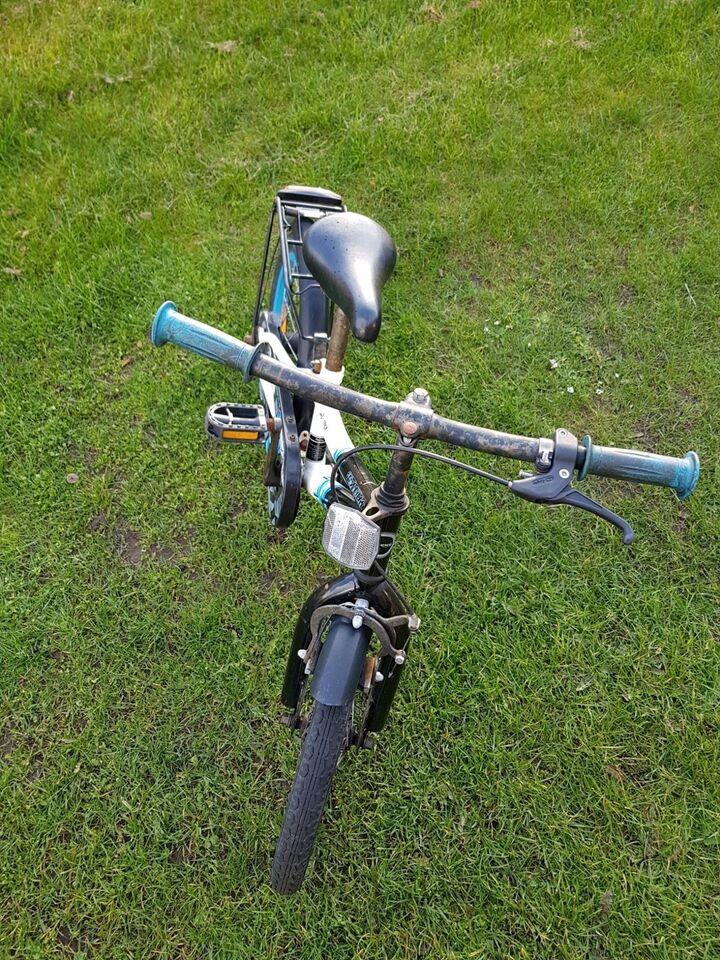 Drengecykel, anden type, 17 tommer hjul