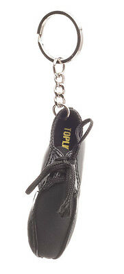 Hombre Charol Negro Topline Ballroom Zapatos De Baile Regalo Llavero Katz KR19