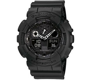 OROLOGIO CASIO G-SHOCK GA-100-1A1ER WATCHPESCARA CONCES. UFFICIALE CASIO