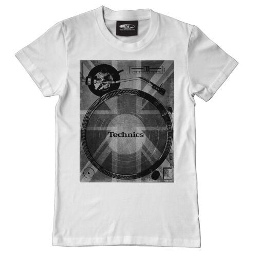 S-XXL 1200 Union Deck Blanc//White t102w Technics//DMC T-Shirt