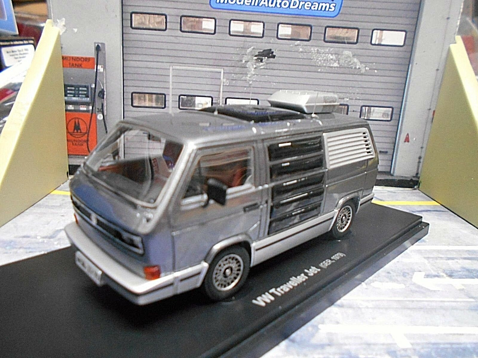VW VOLKSWAGEN t3 bus TRAVELLER JET CAMPER CAMPEGGIO 1979 resin HQ autocult 1 43