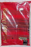 Tobin Tartan Plaid 15x70 Runner Red Green Gold Threads Holiday Table Cloth