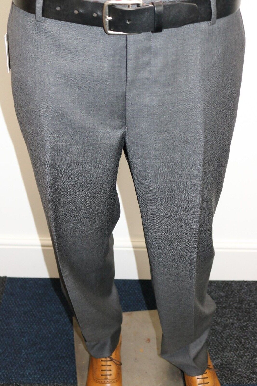 Richard James of Mayfair Charcoal Suit Trousers. 38R