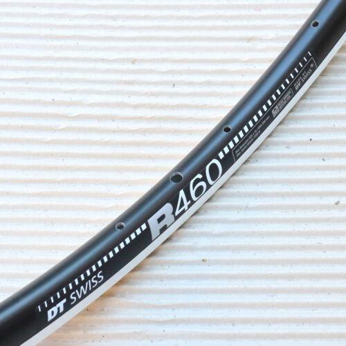 """28/"""" 622x18-20 Loch Felge DT Swiss R 460 Road Race VL 6,5 mm schwarz silber"""