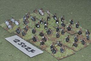 10mm colonial  zulu  warriors 48 figures  inf 25024 - Derby, Derbyshire, United Kingdom - 10mm colonial  zulu  warriors 48 figures  inf 25024 - Derby, Derbyshire, United Kingdom
