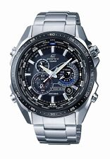 Casio Men's EQS500DB-1A1 Edifice Solar Stainless Steel Multi-Function Watch