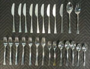 Vintage Stainless Flatware Silverware Gorham GEORGETOWN New |Gorham Flatware Patterns Stainless Steel