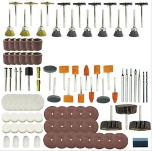 350-Stueck-Drehwerkzeug-Kit-Schleifset-Polierset-Drill-Zubehoer-Schleifer-Satz